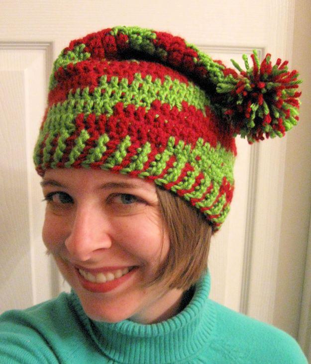 Elf hat handmade crochet