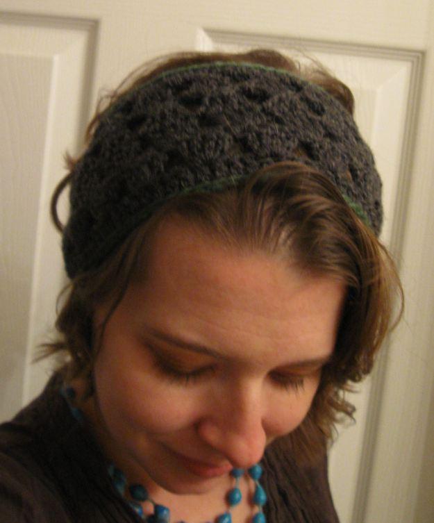 crochet handmade headband