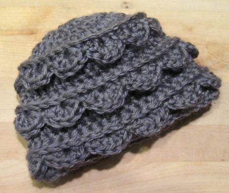Ruffle Hat handmade crochet children infant