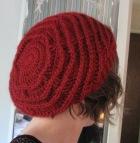 slouchy handmade crochet hat