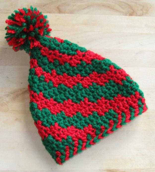 handmade infant elf hat crochet